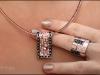 Кольцо и ожерелье Elegante