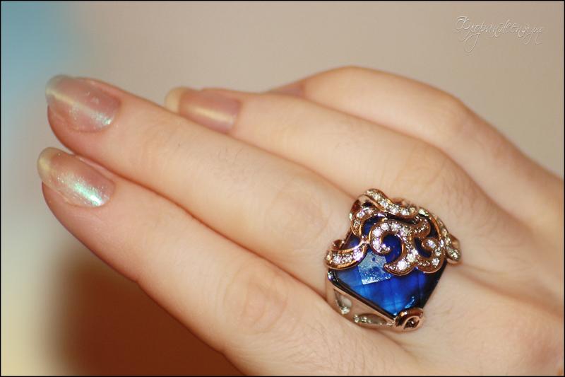 Бижутерия Жоли, кольцо на мне, Женя Никова