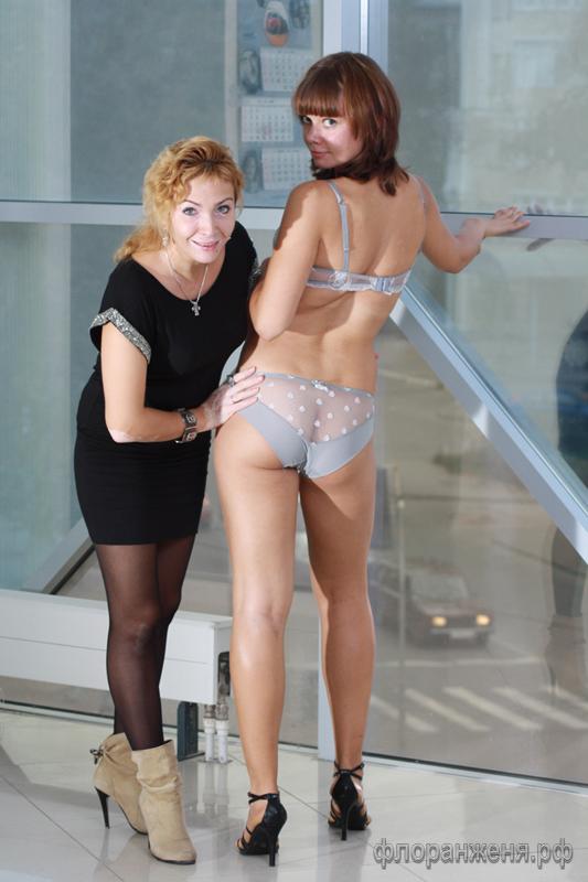 Super Stars Love Story от Florange-2012 с новой моделью нижнего белья Викой